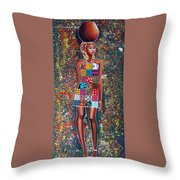 Nabanda Throw Pillow