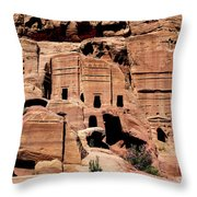 Nabataeans' City Throw Pillow