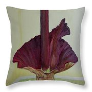 Voodoo Lily 1a Throw Pillow