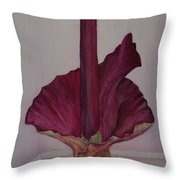 Voodoo Lily 2a Throw Pillow