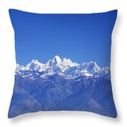 Nagarkot View Throw Pillow