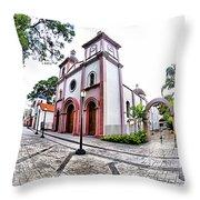 Naguanagua Church Throw Pillow