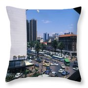 Nairobi City Throw Pillow