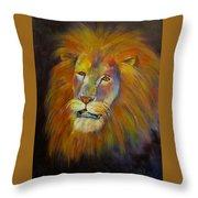 Naja, Lion  Throw Pillow