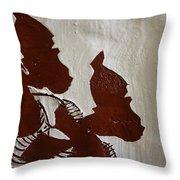 Nakato And Babirye - Twins 2 - Tile Throw Pillow