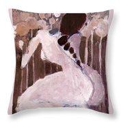 Naked Dream Throw Pillow