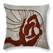 Nakimuli - Tile Throw Pillow
