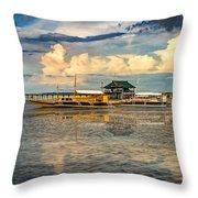 Nalusuan Boats Throw Pillow