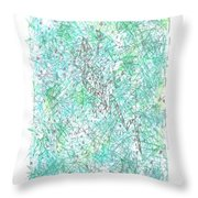 Nambung Goanna Throw Pillow