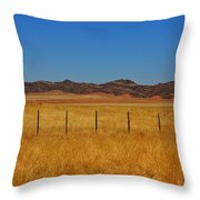 Namib Desert 3 Throw Pillow