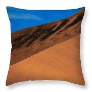 Namibia Sand Dune Throw Pillow