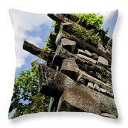 Nan Madol Wall Throw Pillow