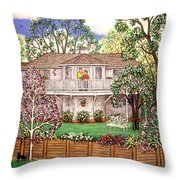Nancy's House Throw Pillow