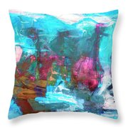 Nanda Devi Throw Pillow