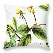 Nanea Flower Art Throw Pillow