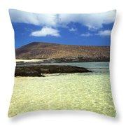 Nanina Beach Throw Pillow
