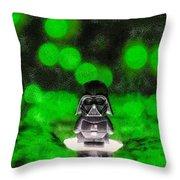Nano Darth Vader - Da Throw Pillow