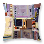 Nano Night Music Throw Pillow