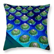 Nanoparticles, Lithium Metal, Afm Throw Pillow
