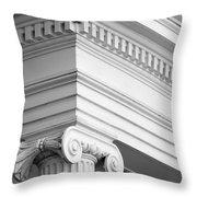 Nantucket Architecture Throw Pillow