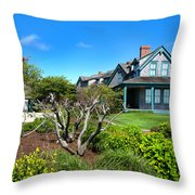 Nantucket Architecture Series 08 Y1 Throw Pillow