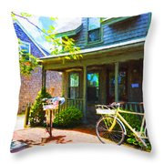 Nantucket - Architecture Series 10y Throw Pillow