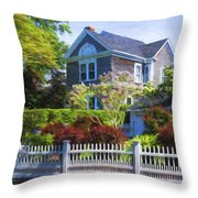 Nantucket Architecture Series 7 - Y1 Throw Pillow