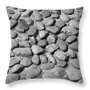 Nantucket Cobblestones Throw Pillow