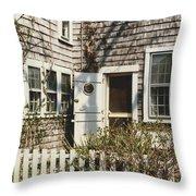Nantucket Cottage Throw Pillow