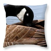 Nap Time 2 Throw Pillow