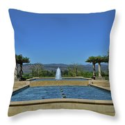 Napa Valley Inglenook Vineyard -4 Throw Pillow