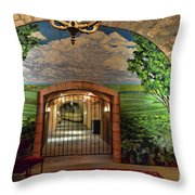 Napa Valley Inglenook Vineyard -7 Throw Pillow