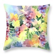 Napa Valley Morning 2 Throw Pillow by Deborah Ronglien