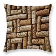Napa Valley Wine Auction Throw Pillow