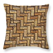 Napa Wines Throw Pillow