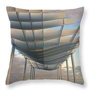 Napier Pier 2016 Throw Pillow