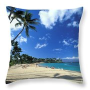 Napili Throw Pillow