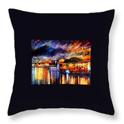 Naples - Vesuvius Throw Pillow
