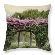 Naples Arches Throw Pillow