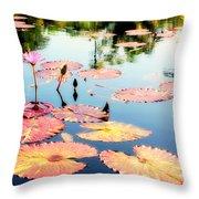 Naples Botanicals  Throw Pillow