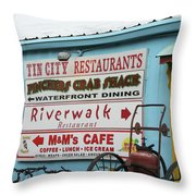 Naples Fl Throw Pillow