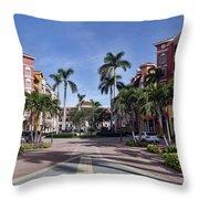 Naples, Florida I Throw Pillow
