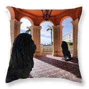 Naples Florida Ix Throw Pillow