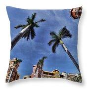 Naples Florida Vii Throw Pillow
