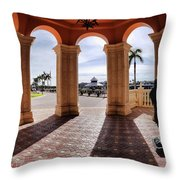 Naples Florida X Throw Pillow