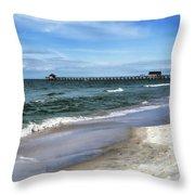 Naples Florida Xiv Throw Pillow