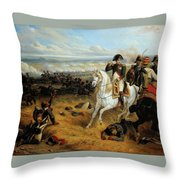 Napoleon In Wagram Throw Pillow