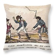 Napoleon: Russian Campaign Throw Pillow