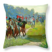Napoleon Throw Pillow