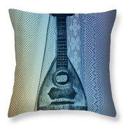 Napolitan Mandolin Throw Pillow